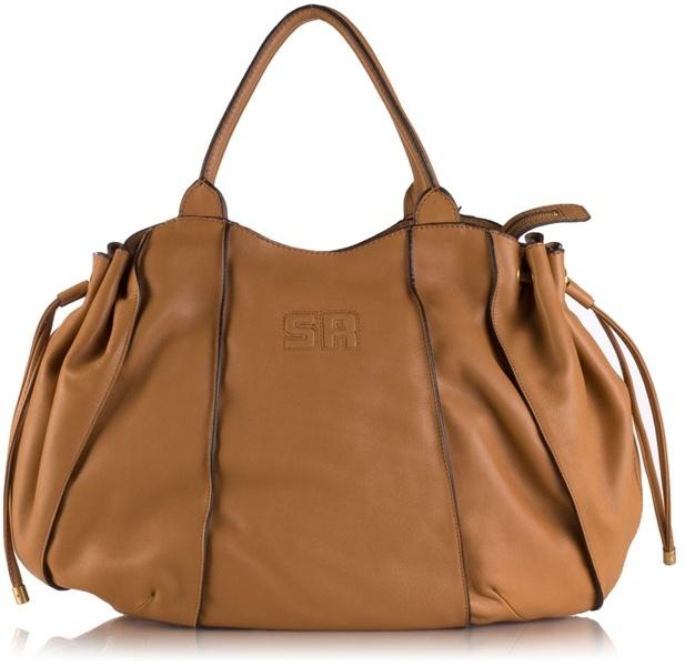 SONIA RYKIEL - Soft leather tote