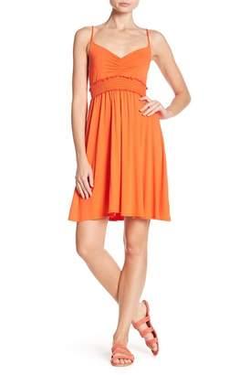 Soprano Knit Smocked Waist Dress