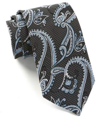 Nordstrom Rack Silk Mulberry Paisley Tie