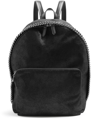 STELLA MCCARTNEY Falabella faux-suede backpack $796 thestylecure.com