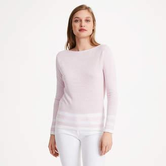 Club Monaco Lana Block Stripe Sweater