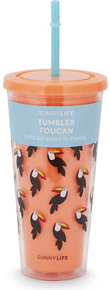 Sunnylife Toucan tumbler $13 thestylecure.com