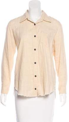 Etoile Isabel Marant Long Sleeve Button-Up Top