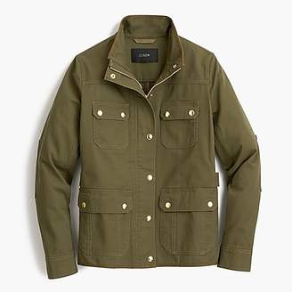 J.Crew Petite uncoated downtown field jacket