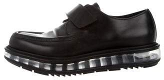 Prada Pointed-Toe Derby Shoes
