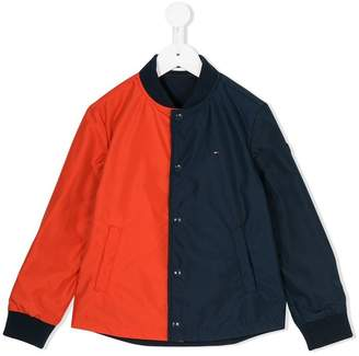 Tommy Hilfiger Junior colour block lightweight jacket