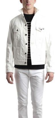 Lucien Pellat-Finet White Jean Jacket