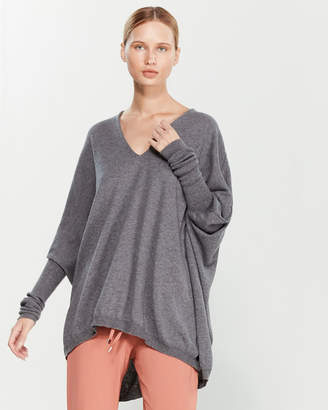 Liviana Conti Dolman Wool Tunic Sweater