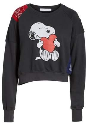 Daydreamer Snoopy Bandana Panel Sweatshirt