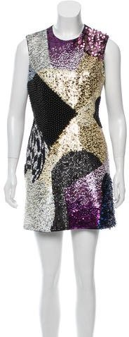 3.1 Phillip Lim 3.1 Phillip Lim Sequin Mini Dress