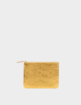 Comme des Garcons Embossed Logotype zipped pouch