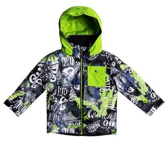 Quiksilver Little Mission Waterproof Hooded Jacket
