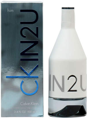 Calvin Klein Men's 3.4Oz In2u Eau De Toilette Spray