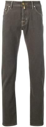 Jacob Cohen vintage knit slim-fit jeans