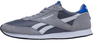 Classics Mens Royal Jogger 2 Trainers HS-Tin Grey/Foggy Grey/Vital Blue/White