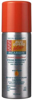 Avon Sss Bug Guard + Picaridin With Vitamin-E Aerosol 4oz Can $6.89 thestylecure.com