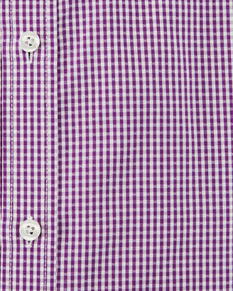 English Laundry Classic-Fit Gingham Dress Shirt, Purple