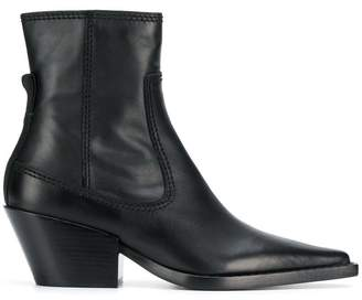 Joseph pointed toe ankle boots