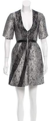 Brandon Sun Tweed Sheath Dress