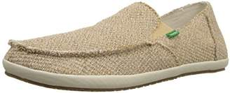 Sanuk Men's Rounder Hobo Hemp Slip On