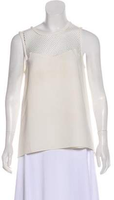 Rag & Bone Textured Sleeveless Blouse