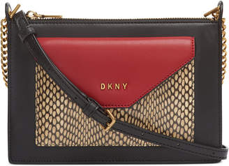 DKNY Alexa Top Zip Crossbody