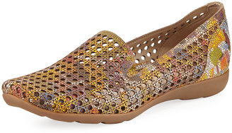 Sesto Meucci Gauri Perforated Casual Loafer, Multi $239 thestylecure.com