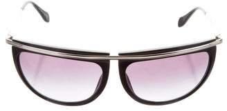 Balmain x Oliver Peoples Aviator Gradient Sunglasses