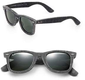 Ray-Ban 50MM Denim Wayfarer Sunglasses