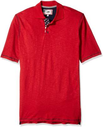 Lee Men's Vintage Slub Polo Shirt
