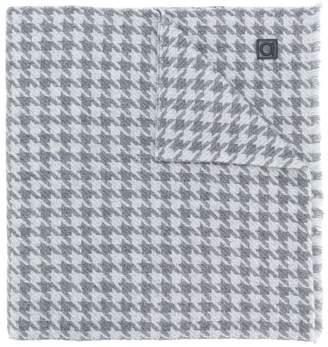 Salvatore Ferragamo houndstooth knit scarf