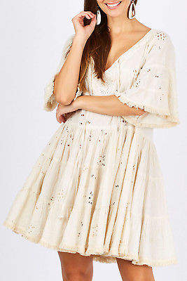 Talisman Designs NEW Womens Short Dresses Mira Dress Vanilla - Dresses