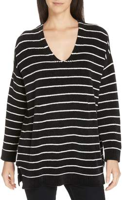Eileen Fisher V-Neck Tunic Sweater