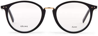 Celine CL 41406 Black Round Optical Frames
