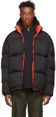 Nike Reversible Black and Orange Down NRG Puffer Jacket