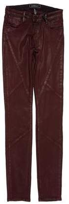 Brockenbow Mid-Rise Wax Coated Jeans w/ Tags
