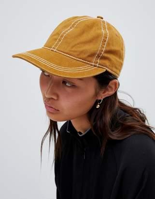 Weekday cap in tan