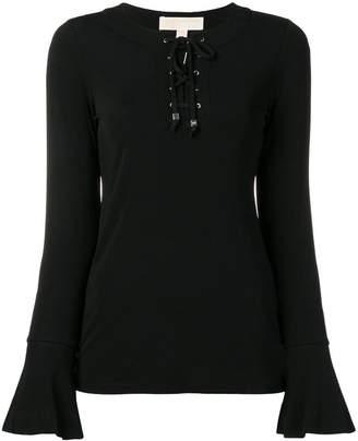 MICHAEL Michael Kors lace-up sweatshirt