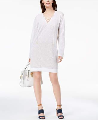 Michael Kors Lace Sweater Dress