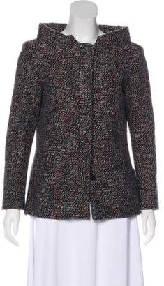 Chanel Tweed Stand Collar Jacket w/ Tags