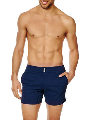 Men's Unis Stretch-Jacquard Swim Trunks