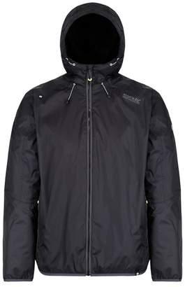 Regatta Black 'Tarren' Waterproof Hooded Jacket