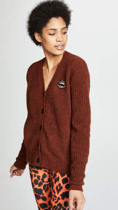 Markus Lupfer Polly Brushed Wool Cardigan