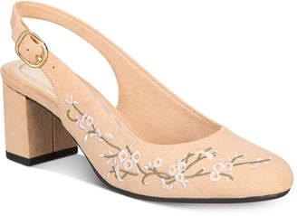 Easy Street Shoes Dainty Slingback Pumps Women's Shoes