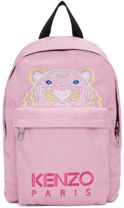 Kenzo Pink Small Tiger Backpack