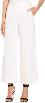 St. John Milano Knit Cropped Pants