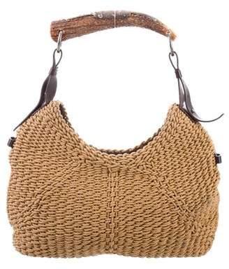 Saint Laurent Woven Mombasa Bag