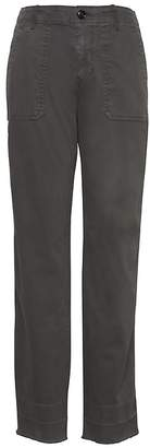 Banana Republic Petite Straight-Fit Utility Chino