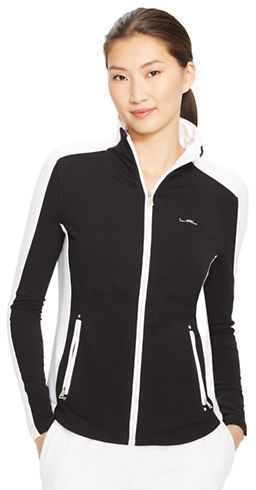 Lauren Ralph Lauren Color Blocked Full Zip Jacket