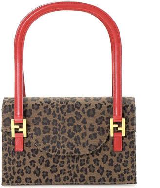 Fendi Cheetah Shoulder Bag - Vintage